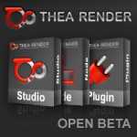 Lançamento do beta teste aberto para Thea Render  | Open beta Launch for Thea Render
