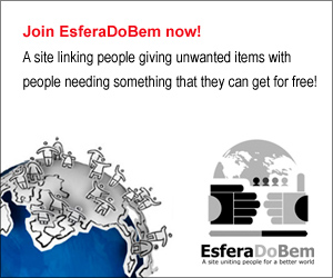 EsferaDoBem - A site uniting people for a better world.