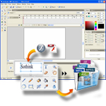 Create professional flash animations with Sothink SWF Quicker