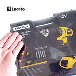 Desembalando a parafusadeira e furadeira Trevalla 12v bateria lítio 1300mAh|Unboxing Trevalla Cordless Screwdriver and Drill with 12 Volt Lithium-Ion Battery 1300mAh