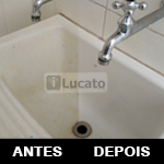 Como limpar azulejos e tanque de uma lavanderia e de outros lugares | How to clean tiles and laundry sink in a laundry room and other places